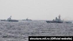 Артиллерийские стрельбы с участием кораблей Черноморского флота России, 7 августа 2017 года