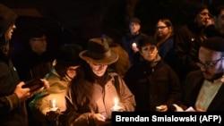 Акция памяти жертв убийства