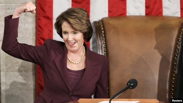 Nancy Pelosi, 2007.