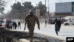 FILE: Pakistani soldiers respond to an attack in Quetta, the capital of Balochistan.
