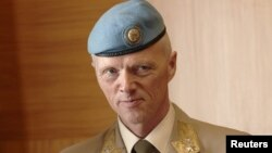 Глава миссии наблюдателей ООН в Сирии генерал Роберт Муд