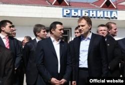Vlad Filat şi Evgheni Şevciuk