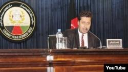 نجیب شریفی رئیس کمیته مصونیت خبرنگاران افغانستان