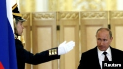 Сто дней третьего президентского срока Владимира Путина