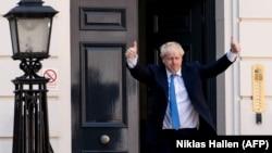 Борис Джонсон в Лондоне