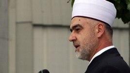 The new Bosnian grand mufti Husein Kavazovic
