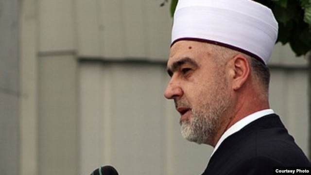 The new Bosnian grand mufti Husein Kavazovic
