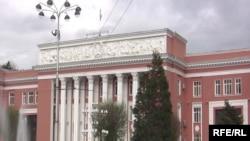 Здание парламента Таджикистана