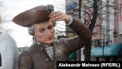 Statua nemačkog filozofa Immanuela Kanta u ruskom gradu Kalinjingradu.