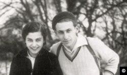Миклош Радноти с женой