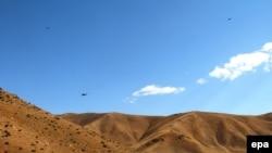 Бойові вертольоти ВПС Туреччини в перебігу операції проти курдських сепаратистів, архівне фото