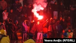 Nasilje na stadionima u Srbiji, foto: Vesna Anđić