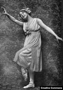 Жена Джона Кейнса балерина Лидия Лопухова