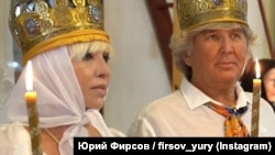 Валентина Легкоступова і Юрій Фірсов, вінчання в селі Грушівка під Судаком 15 липня 2020 року