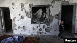 Шаҳри Идлиби Сурия (28 феврали соли 2012)
