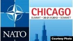 Логотип предстоящего саммита НАТО в Чикаго (США)