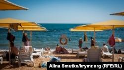 Ukraine, Crimea - the holiday season in Feodosia, 13Sep2016
