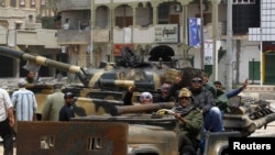 Повстанцы в ливийском городе Мисурата