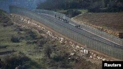 مرز اسرائیل و سوریه
