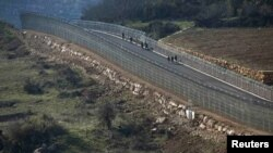 Линия прекращения огня между Сирией и Израилем в районе селения Друз. Иллюстративное фото.