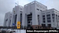 Астанадағы қалалық сот. 20 қазан 2016 жыл.