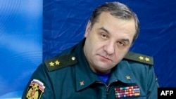 Russian Emergency Situations Minister Vladimir Puchkov said emergency teams working in the area needed reinforcements.