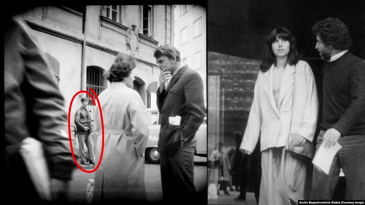 Шпионские фотографии из коммунистической Чехословакии. Агенты использовали миниатюрные фотокамеры