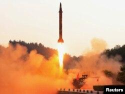 Выпрабаваньне балістычнай ракеты ў КНДР, 30 траўня 2017 году