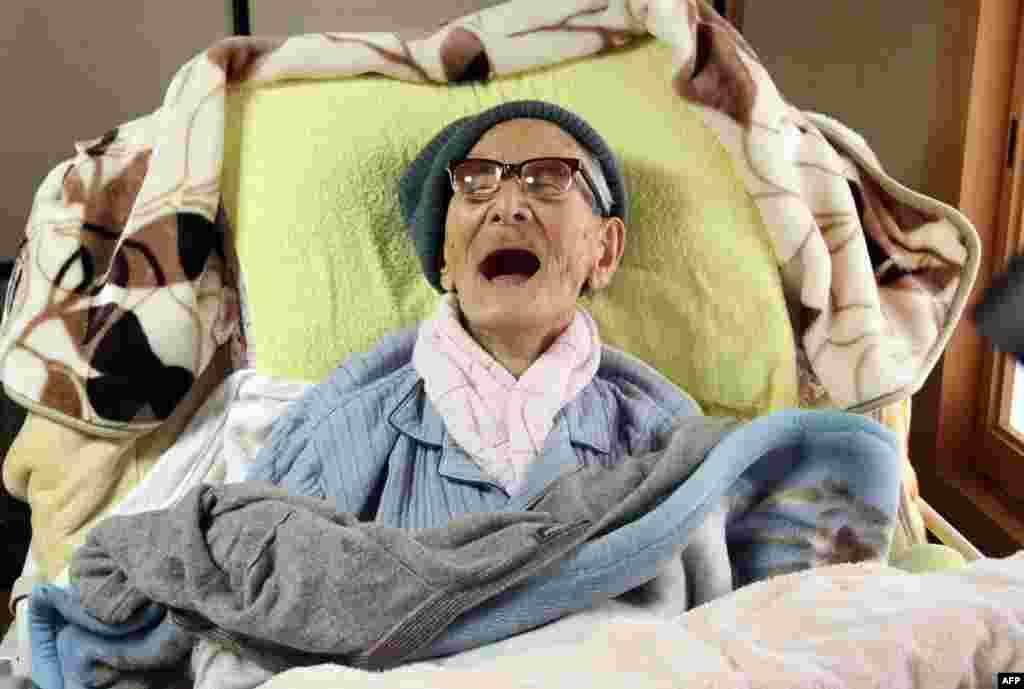 12 июня в Японии на 116-м году жизни скончался самый старый в мире человек Дзироэмон Кимура.