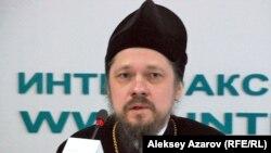 Управляющий делами Русской православной церкви в Казахстане епископ Геннадий (Гоголев). Алматы, 23 января 2013 года.