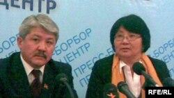 Б.Бешимов и Р.Отунбаева