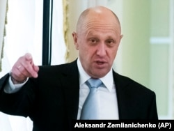 Businessman Yevgeny Prigozhin