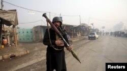 Пакистанский солдат в Пешаваре, 19 января 2016