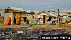 Место проживания беженцев. Архивное фото