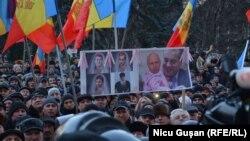 Молдовадагы нааразылык акциясы. 20-январь, 2016-жыл