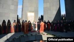 Posjeta pape Franje memorijalnom centru u Jerevanu, 25. juni 2016.