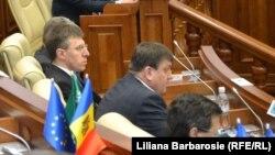 La deschiderea sesiunii parlamentare