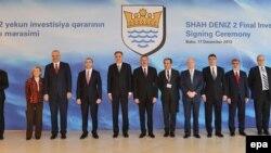 Mərhələ-2 layihəsinin imzalanma mərasimi, Bakı 17 dekabr 2013