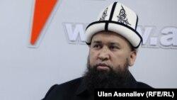 Кыргызстандын муфтийи Максатбек ажы Токтомушев.