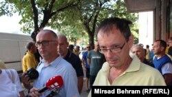 Juče tokom cijelog dana trajao je pritisak na članove sindikata da ne izlaze na ulicu: Tomislav Erić, predsjednik Sindikata radnika HP Mostar