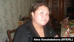 Алматы қаласының тұрғыны Гүлжазира Мәтенова . Алматы, 7 шілде 2014 жыл.