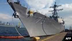 Luftanija amerikane USS Donald Cook në portin Konstanca në Rumani