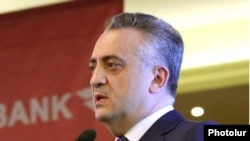Armenia -- Artur Javadian, governor of the Central Bank.