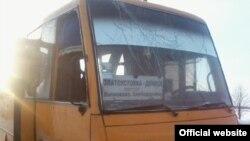 Попадание ракеты в автобус возле города Волноваха. 13 января 2015 года