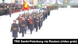 Parada militară de la St. Petersburg