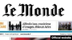 Францияның Le Monde басылымы, 5 шілде 2013 жыл. (Көрнекі сурет).