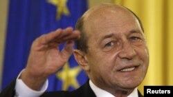 Президент Румынии Траян Бэсеску.