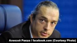 Rusian demographer Aleksei Raksha (file photo)