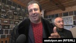 Armenia -- Businessman Gagik Tsarukian speaks to RFE/RL in Gyumri, 11Dec2016
