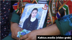 """In Kyrgyzstan, nearly 14 percent of women under 24 married """"through some form of coercion,"""" the UN says."""